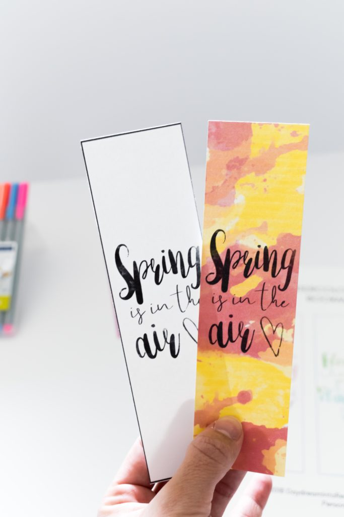 Hold on tight. TheseWatercolor Spring Bookmarks are absolutely beautiful! Use them for all of your books, or why not to give them to someone that loves reading and the spring season!!
