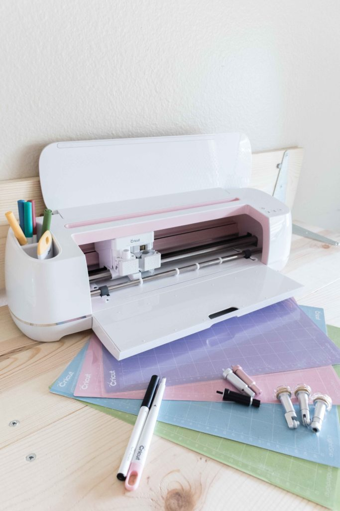 Cricut Maker Rose along with all of the tools you can use with it.
