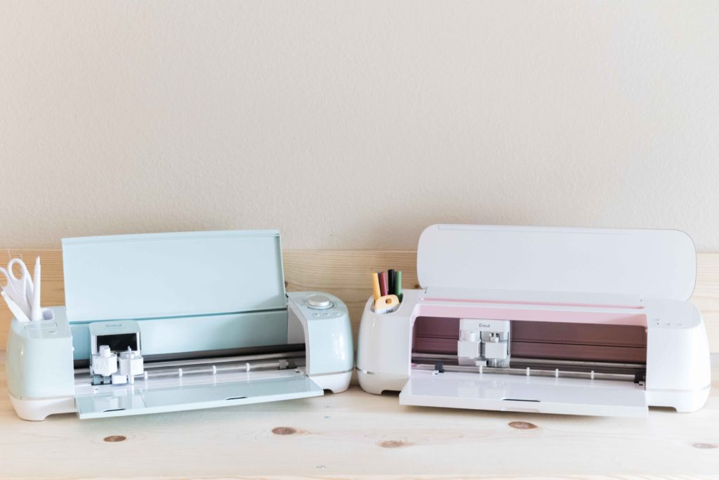 Cricut Explore Mint and Cricut Maker Rose