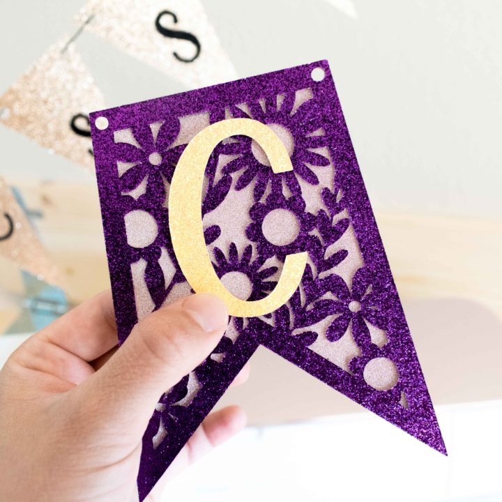 How to Make Banners with Your Cricut