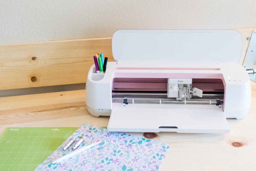Cricut Maker and Beautiful patterned paper to make boxes
