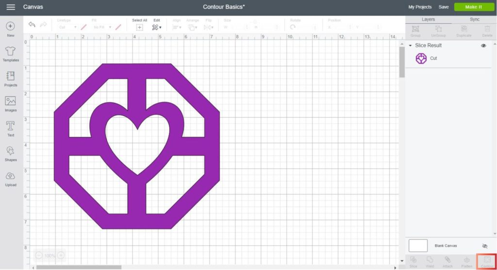 How to Contour in Cricut Design Space and Why isn't working