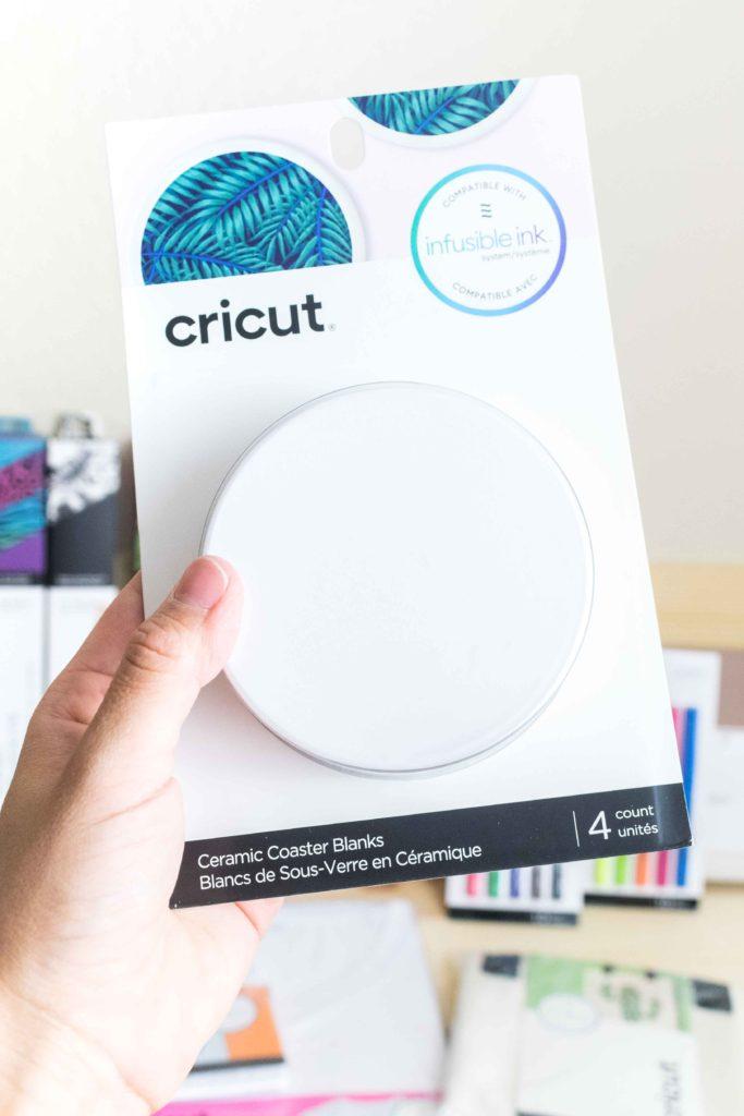 Cricut Infusible Ink Round Ceramic Coaster
