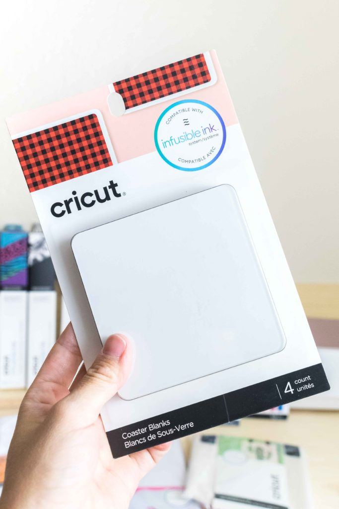 Cricut Infusible Ink Square Cork Coaster Blank