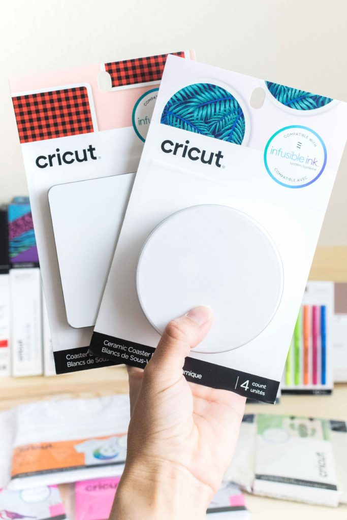 Bosth Cork and Ceramic Coaster Blank for Cricut Infusible Ink
