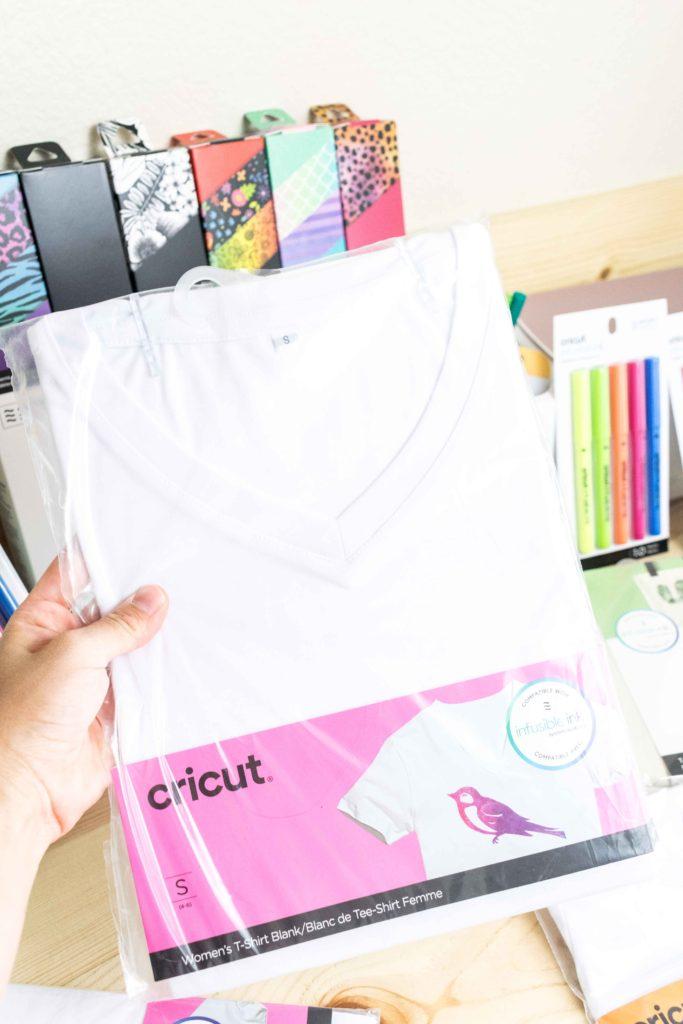 Cricut Infusible Ink Women Tshirt Blank