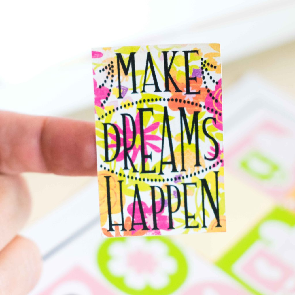 Cricut Sticker - Make dreams happen