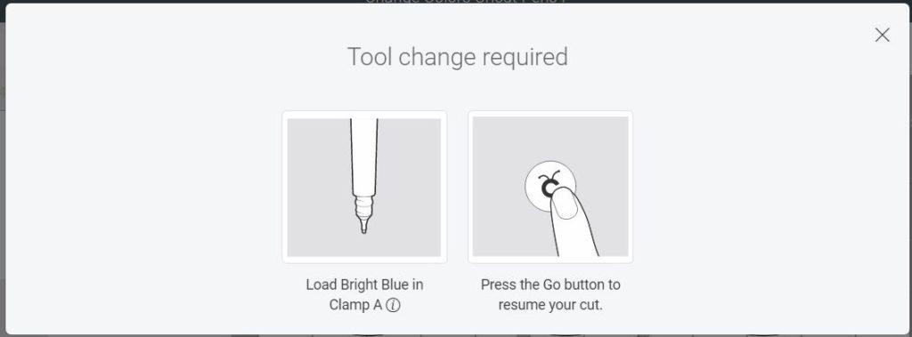 Change Pen in Cricut Design Space
