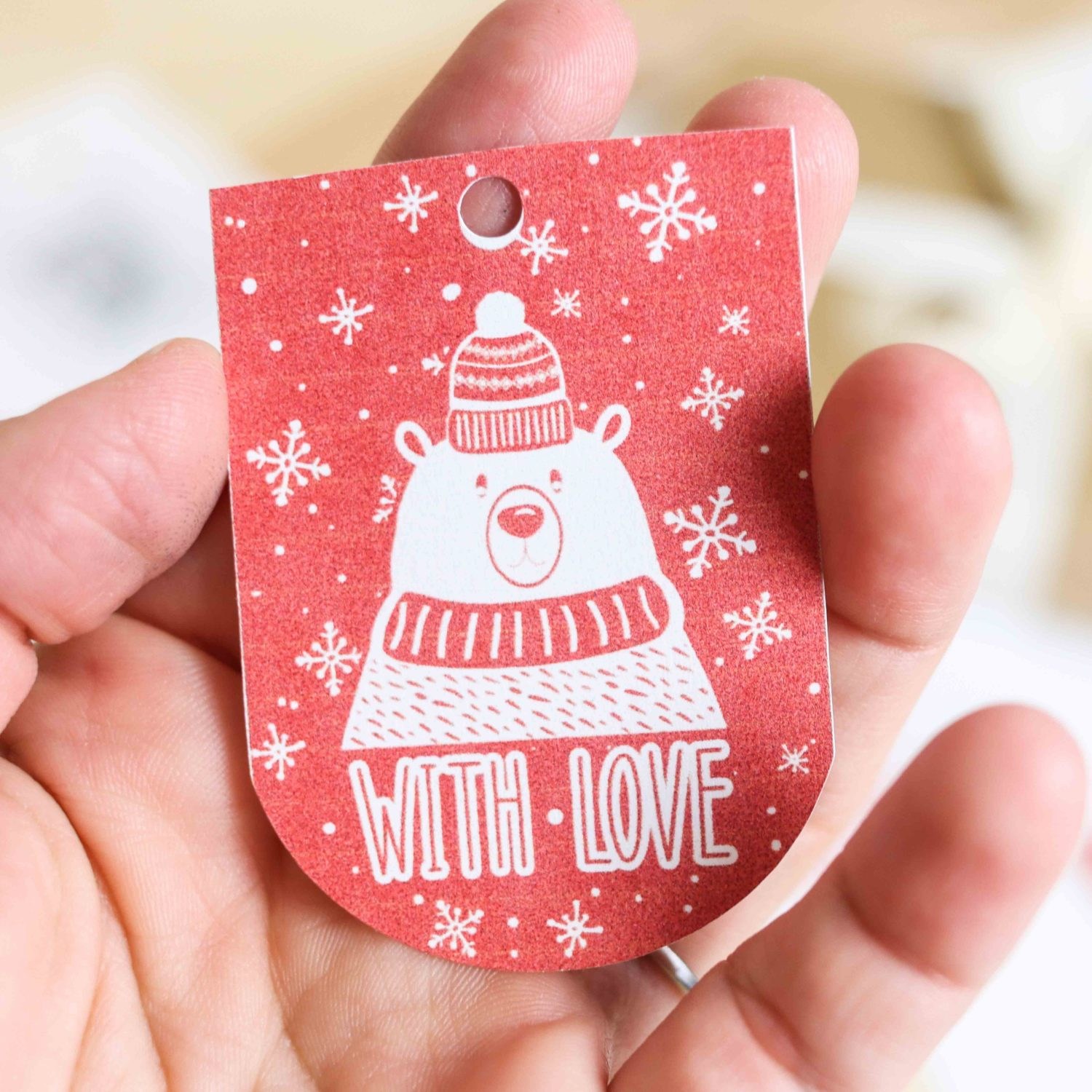 Assorted Christmas Gift Tags Free Printables